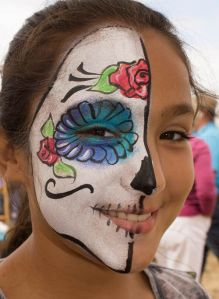 face paint by Auntie Stacey