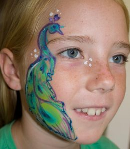 Face painting by Auntie Stacey