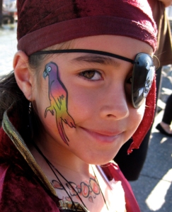 Pirate girl by Auntie Stacey's Face Painting
