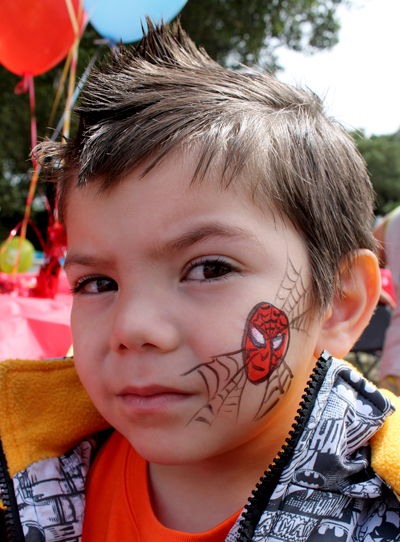 Easy Pumpkin Face Painting Ideas