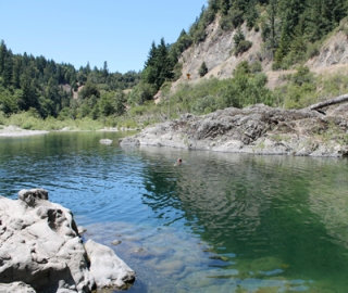swimming hole in Humbolt county