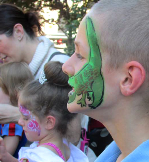 Stacey Kurtz Art For Mural In Boys: Free Face Painting This Weekend