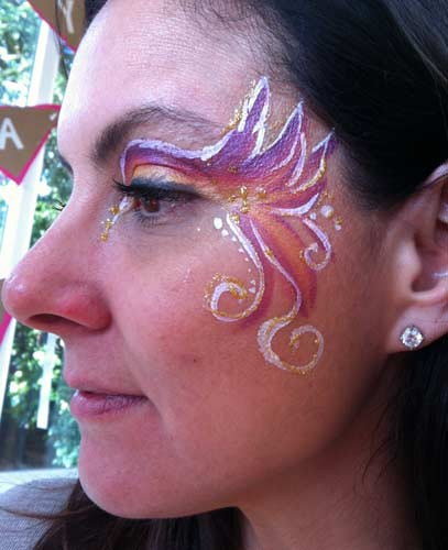 Auntie Stacey's face painting