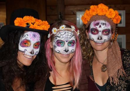 Dia De Los Muertos by Auntie Stacey, www.auntiestaceysfacepaintiing.com