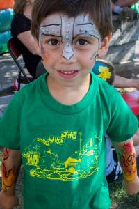 Face painting by Auntie Stacey, Sebastopol, CA
