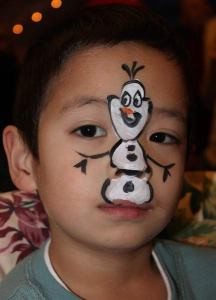 Olaf from Frozen by Auntie Stacey's Face Painting