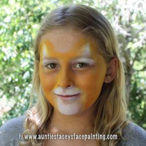 How to Paint a Leopard Face - Auntie Stacey's Face Painting, SF Bay Area