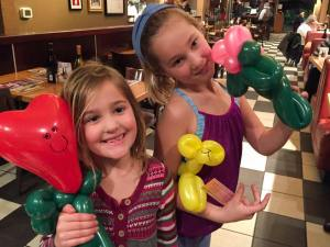 balloon twisting by Auntie Stacey, www.auntiestaceysfacepainting.com