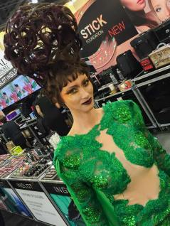 Big hair at IMATS LA