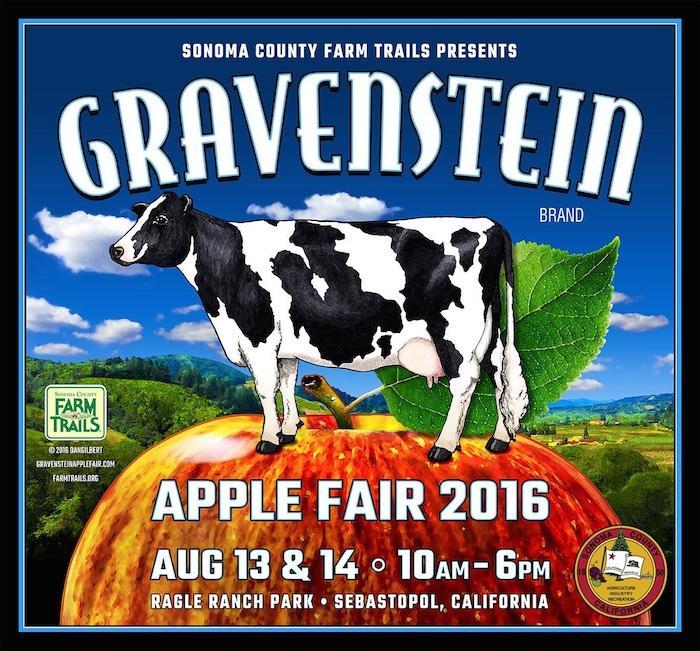 Gravenstein Apple Fair 2016 August 13 & 14, Sebastopol. Auntie Stacey's Face Painting