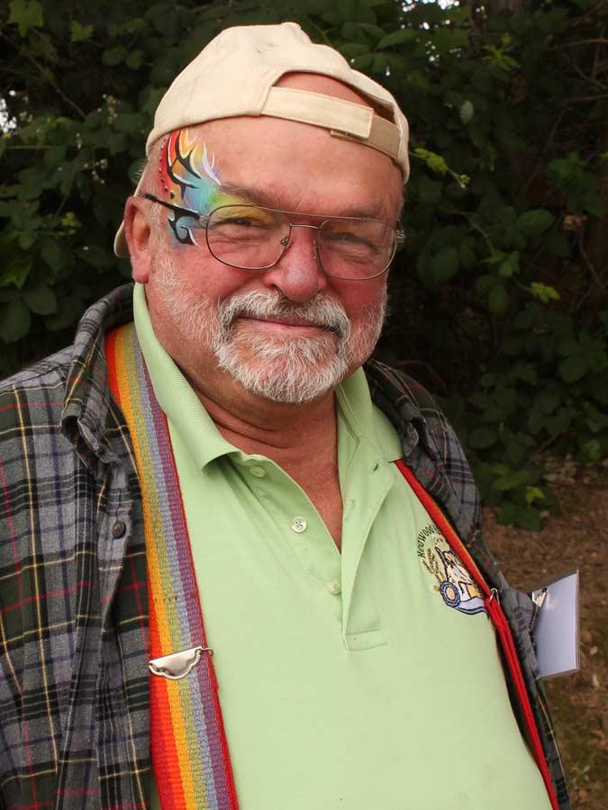 Rainbow Tribal by Auntie Stacey's Face Painting, Sonoma, Marin, Napa county Santa Rosa face painter