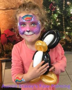 Auntie Stacey's Face Painting, balloon twisting, children's entertainment, party, kids, clown, fun, wine country face painter