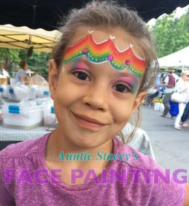 face paint by Auntie Stacey's Face Painting, Windsor, St. Helena, Wine country, Aunty Stacey, Aunt Stacy, Sonoma county, Santa Rosa, Petaluma, Sebastopol, Windsor, Kenwood, Wine Country, SF Bay area, balloons