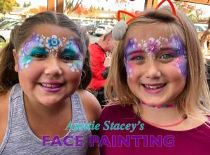 Auntie Stacey's Face Painting, Aunty Stacey, Aunt Stacy, Sonoma county, Santa Rosa, Petaluma, Sebastopol, Windsor, Kenwood, Wine Country, SF Bay area, balloons