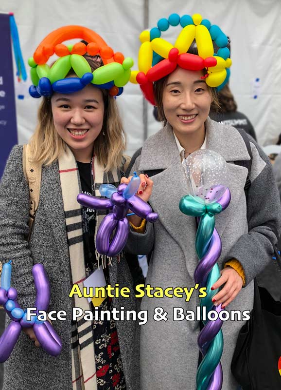 Face paint Auntie Stacey's Face Painting, Aunty Stacey, Princess face paint by Aunt Stacy, Sonoma county, Santa Rosa, Petaluma, Sebastopol, Cloverdale, Novato, Sebastopol, Guerneville, Wine Country, SF Bay area, balloons