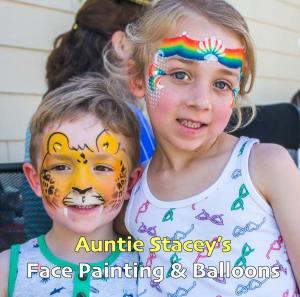 face paint Auntie Stacey's Face Painting, Aunty Stacey, Princess face paint by Aunt Stacy, Sonoma county, Santa Rosa, Petaluma, Sebastopol, Cloverdale, Novato, Sebastopol, Guerneville, Wine Country, SF Bay area, balloons
